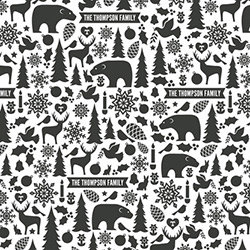 Wintery Mix Wrapping Paper