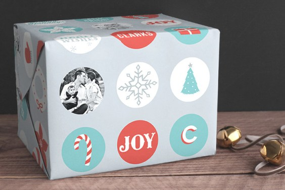 Holiday Icons Wrapping Paper