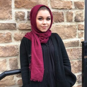 Hooriyah Collection's premium Cotton Hijab Wraps