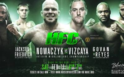 Hoosier Fight Club 32 (VOD)