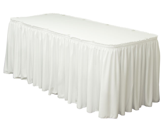 Table Skirts  Hoosier Tent  Party Rentals