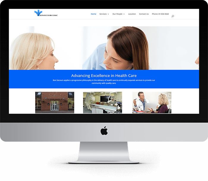Bon Secours Clinic Website Design