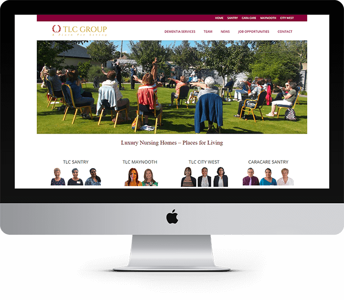 TLC Group Website Design