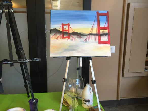 Sample painting