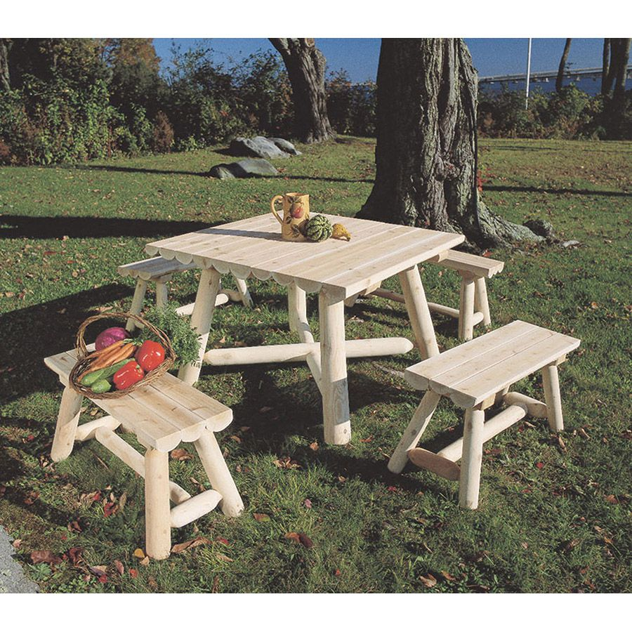 Cedar Wood Dining Table