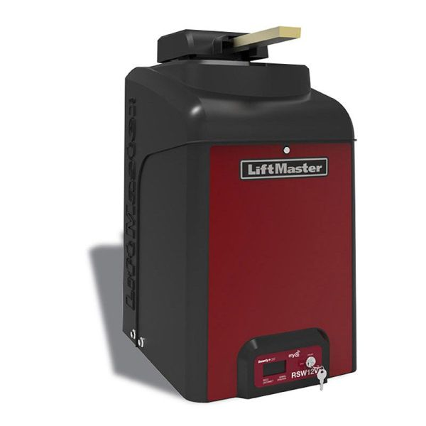 Liftmaster 12 Volt Swing Gate Operator With Battery Backup Hoover Fence