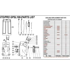 gto wire harness for logic and drive boards for gp series operators  [ 1000 x 1000 Pixel ]
