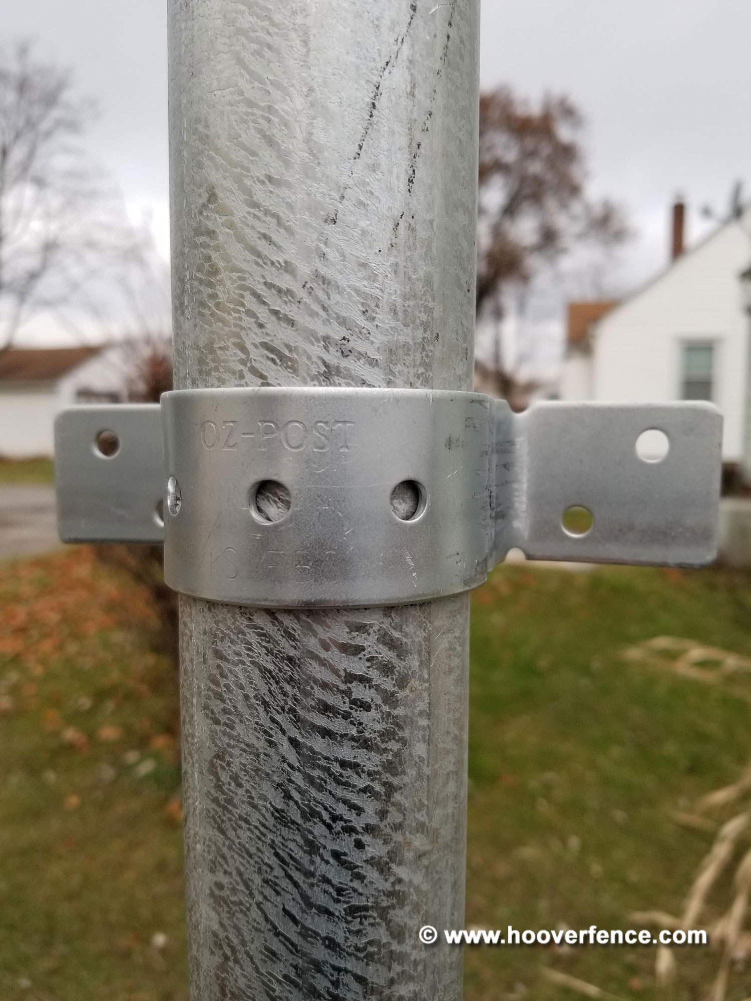 Ozco Building Products Oz Post Is Fbs Standard Series Wood To Steel Fence Brackets Hoover Fence Co