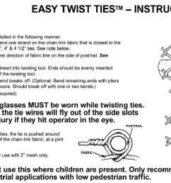easy twist ties instructions [ 1200 x 730 Pixel ]