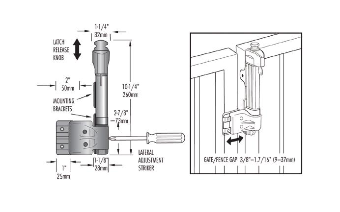 D&D Technologies Magna-Latch Vertical Pull Series 2