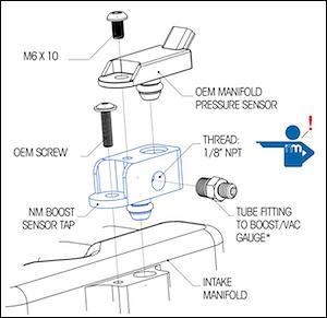 Map Sensor Adapter Exhaust Adapter Wiring Diagram ~ Odicis