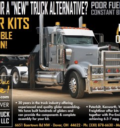 cat powered glider kits is our specialty giving you the advantage of better fuel economy with peterbilt kenworth [ 1153 x 794 Pixel ]