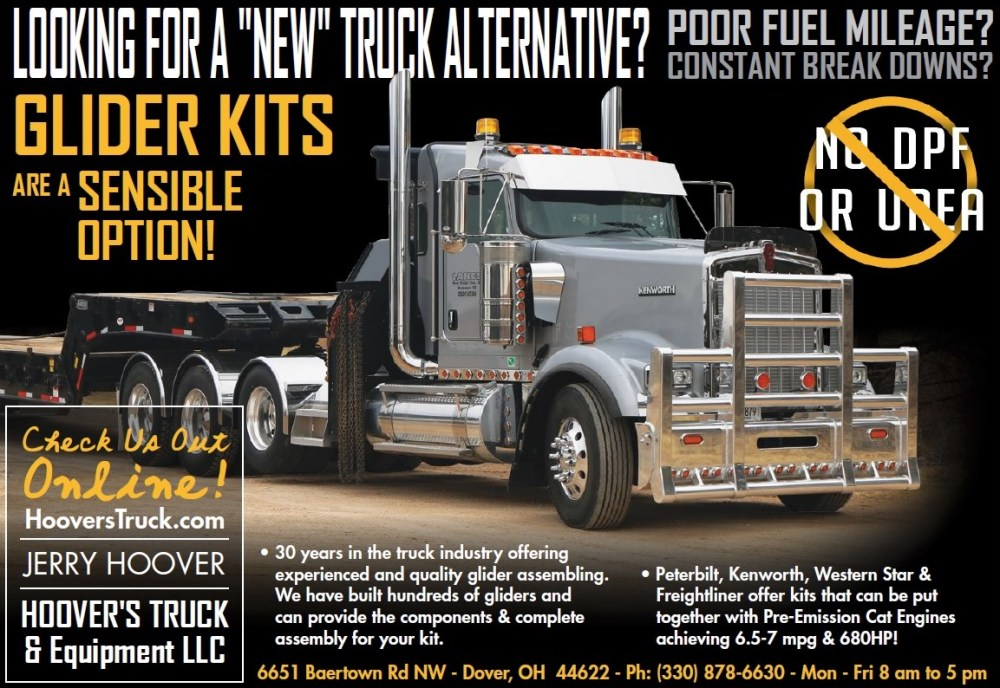 medium resolution of cat powered glider kits is our specialty giving you the advantage of better fuel economy with peterbilt kenworth