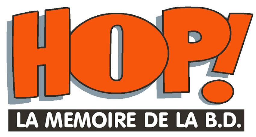 Logo Hop ! - La mémoire de la BD