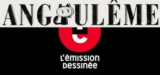 Logo de L'émission Dessinée d'Angoulême 2015