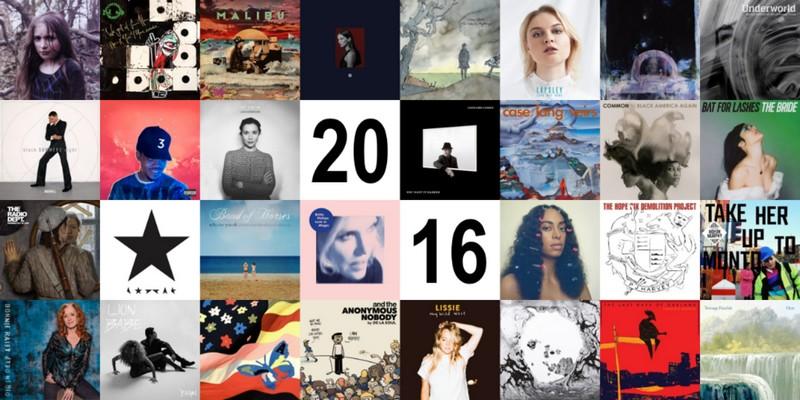 top-albums-presse-2016 Tops Albums 2016 de la presse, des blogs et des webzines
