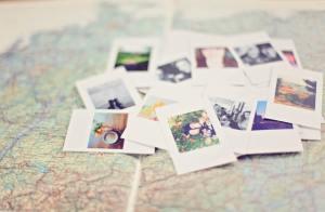 alte Fotos - wie geht Leben im Hier und Jetzt