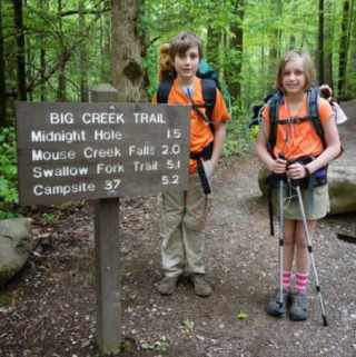 Top 10 Tips for Hiking With Kids and our Big Creek Backpacking Trip