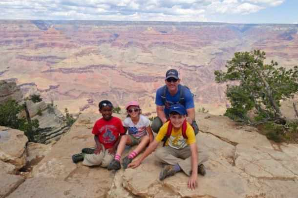 Grand Canyon with Kids and Larry