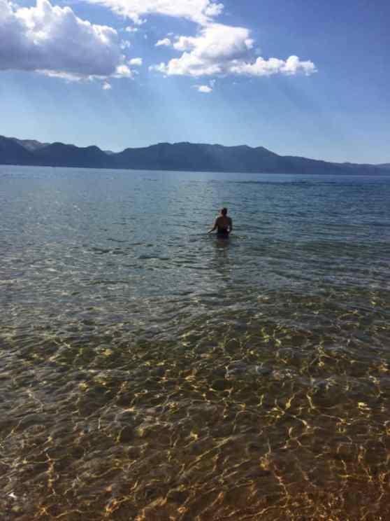Nancy in Lake Tahoe