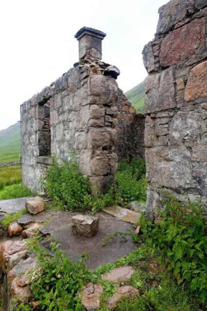 Farmhouse ruins