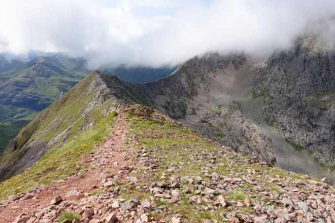 Ben Nevis via the Carn Mor Dearg Arete Route