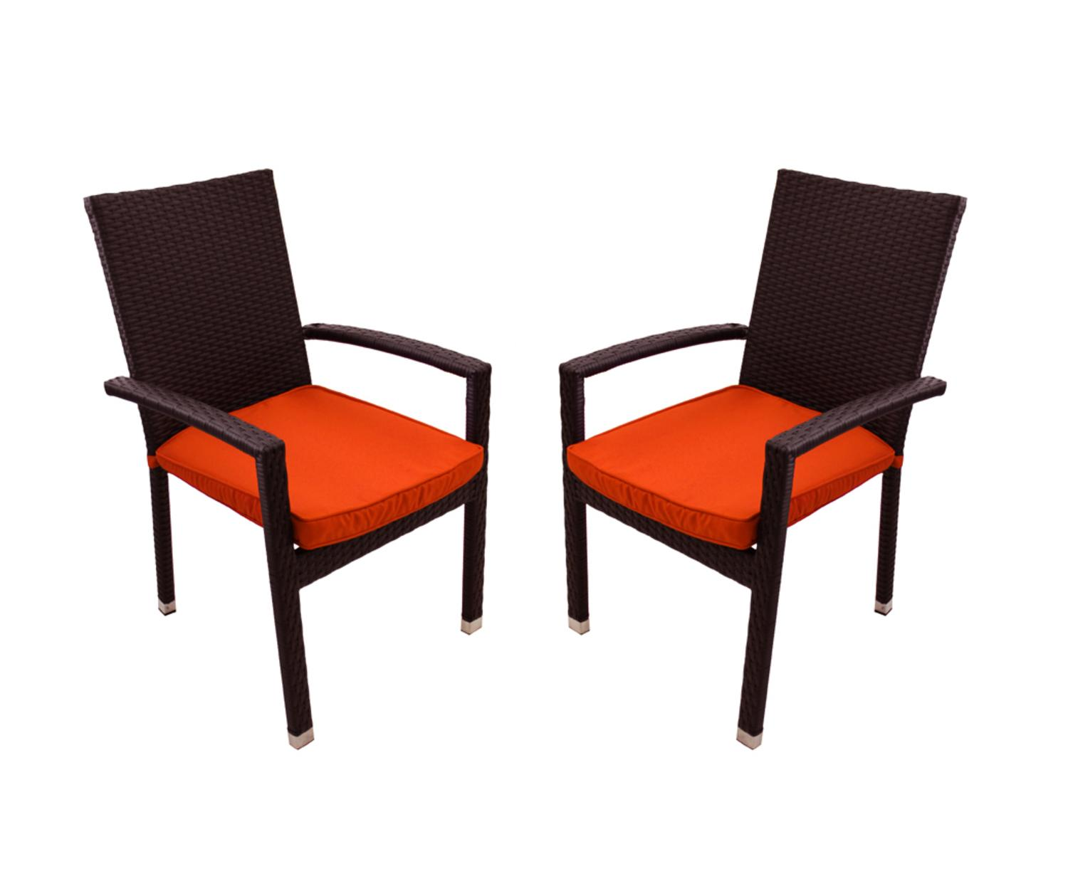 black patio chairs fishing chair platform set of 2 resin wicker outdoor furniture dining