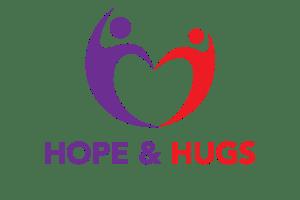 Hope and Hugs Logo - background