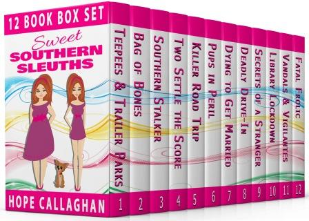 Sweet Southern Sleuths Short Stories 12 Book Box Set