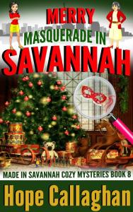 Read this Cozy Mystery Book - Merry Masquerade in Savannah