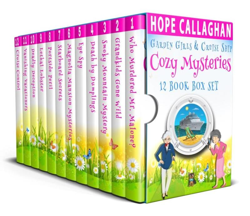 Cozy Mysteries 12 Book Box Set