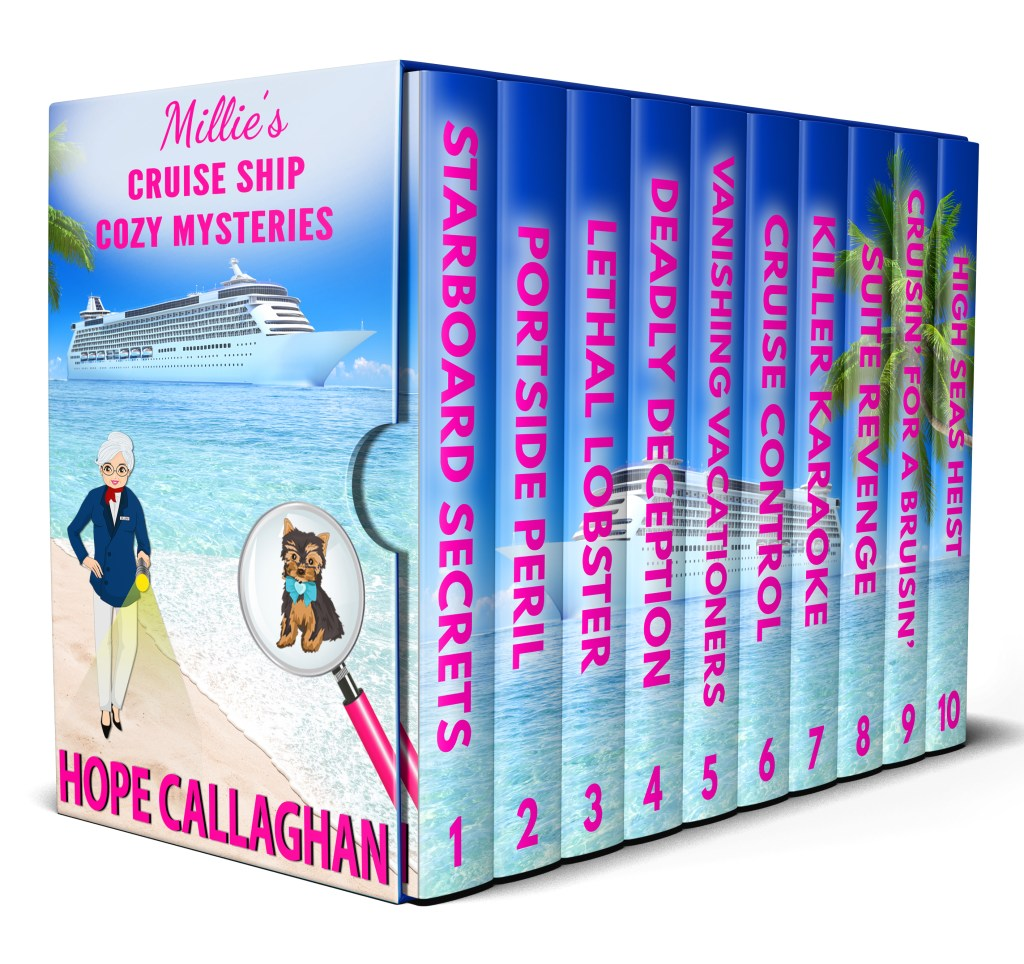 Get 10 Cruise Ship Cozy Mysteries 99 Cents