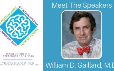 2019 HH International Symposium   Meet Dr. William D. Gaillard