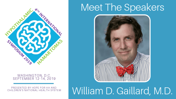 2019 HH International Symposium | Meet Dr. William D. Gaillard