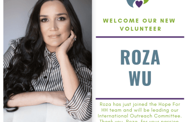 Welcome Volunteer Roza Wu To Our Team!