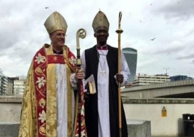 Nigerian Consecrated Bishop In UK