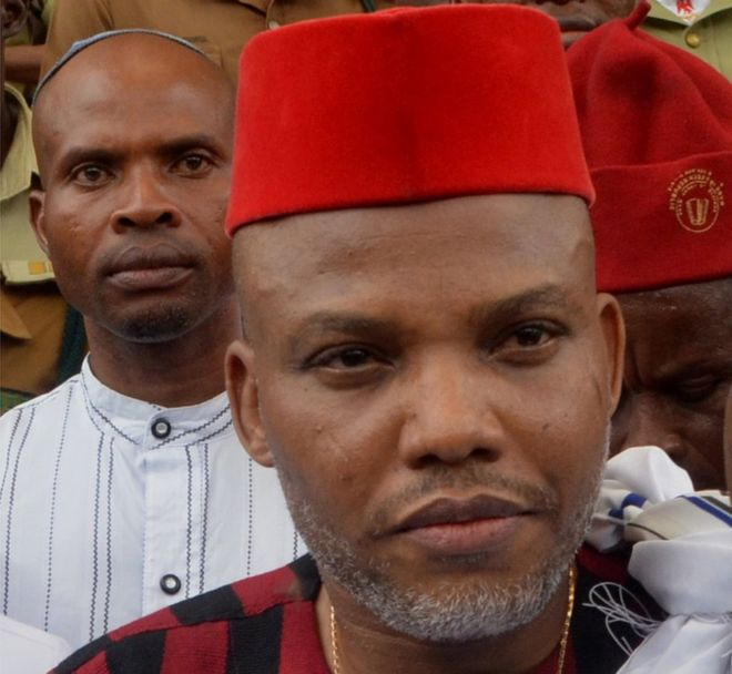 Nnamdi Kanu says he will destroy Nigeria