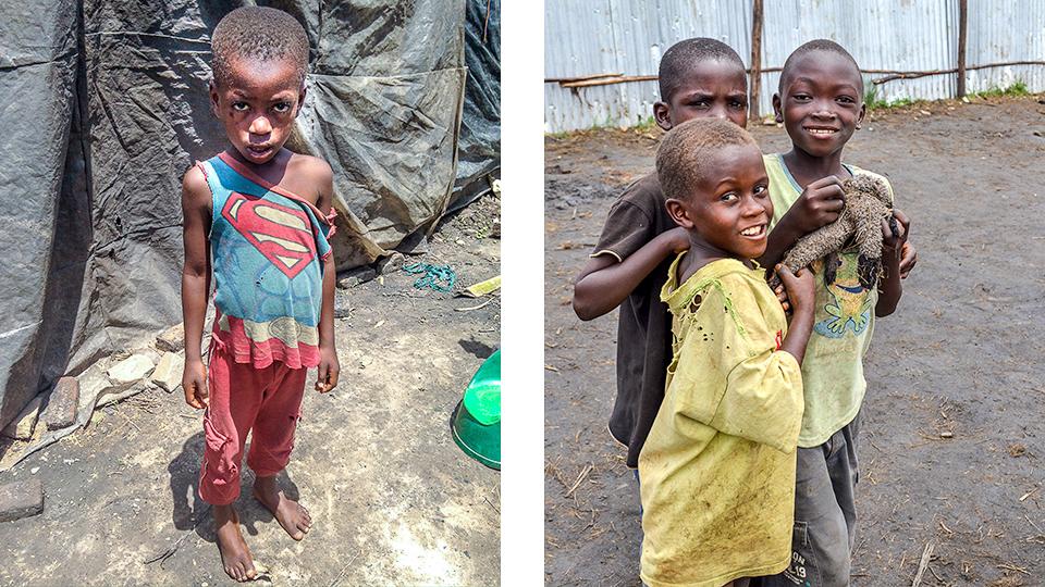 Burundian boys