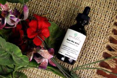 Ease the ache tincture- a natural remedy for period pains and cramps