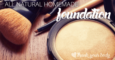 Learn how to make your own all-natural foundation and other DIY makeup recipes!