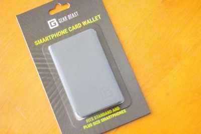 Gear Beast universal smartphone wallet from the Daily Goodie Box