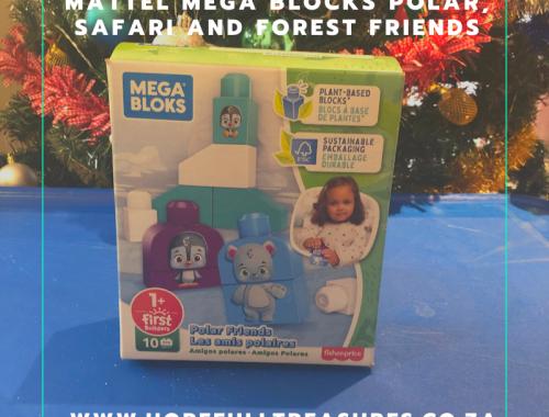 Mattel Mega Blocks Polar Friends