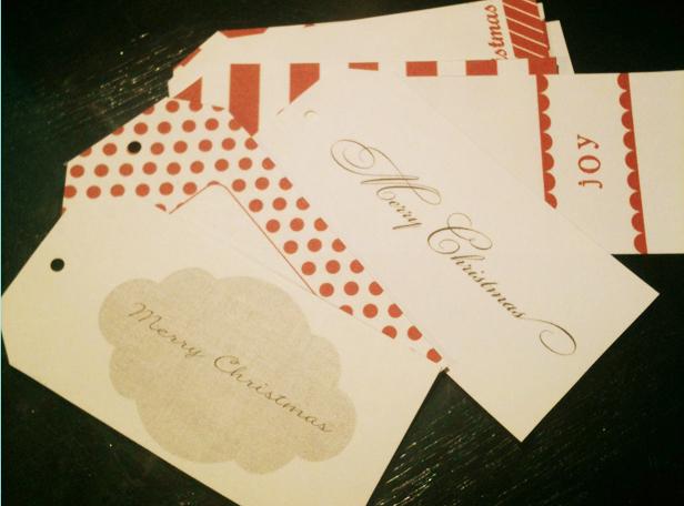 printable christmas tags