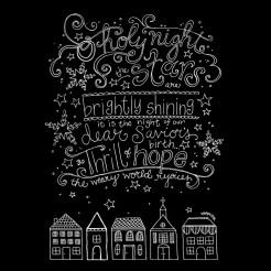 Christmas Chalkboard Art Printable