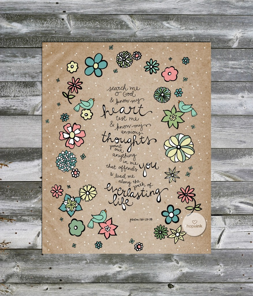 Flower Scripture Art