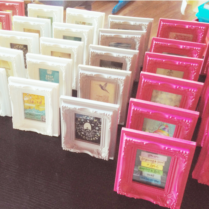Mini Rainbow Frames