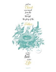 Free Easter Printable Nest Hope Ink Art