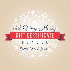 A Very Merry Gift Certificate Bundle