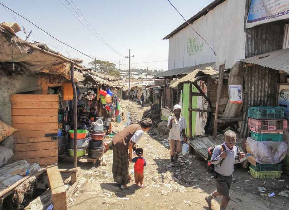 AICAD works with Kibera communities on COVID 19 Awareness