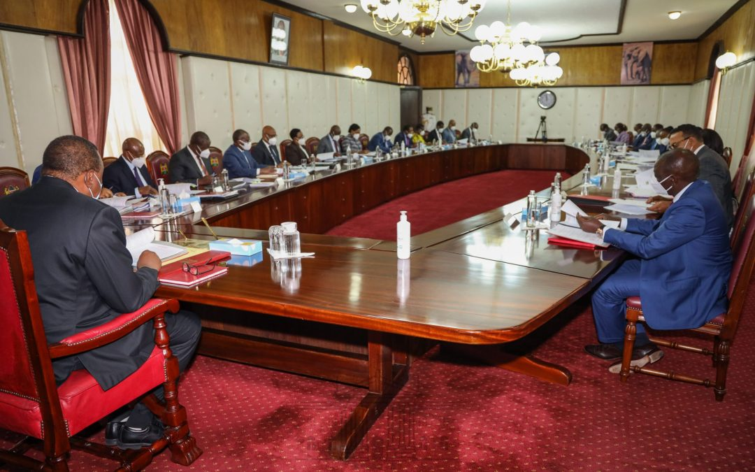 Cabinet okays formation of   Public Order MultiAgency Team